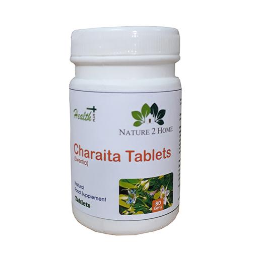 Charaita (Swertia) Powder Tablets:  80 Gms