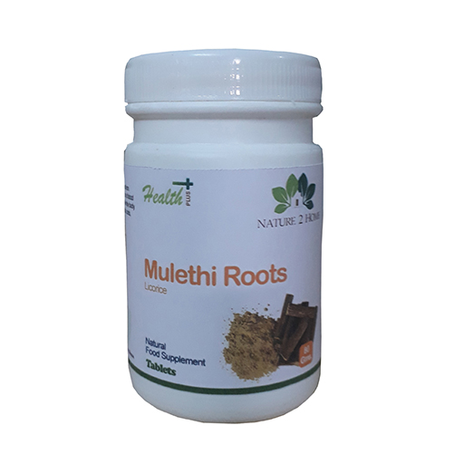 Mulethi (licorice) Roots Powder Tablets: 80 Gms