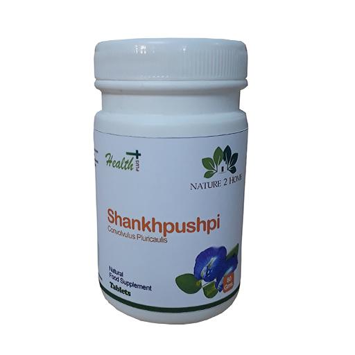 Shankhpushpi (Convolvulus Pluricaulis) Powder Tablets: 80 Gms