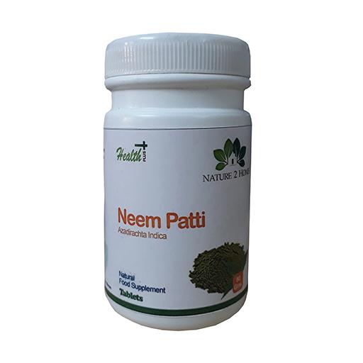 Neem (Azadirachta Indica) Patti Powder Tablets: 80 Gms